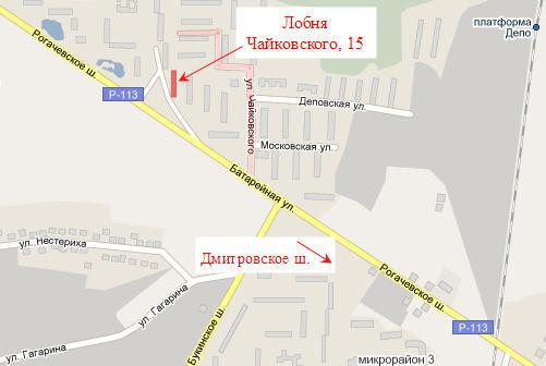 Карта Лобни Московской области онлайн - подробная и интерактивная, улиц и домов города Лобни, город в 15 км к северу...